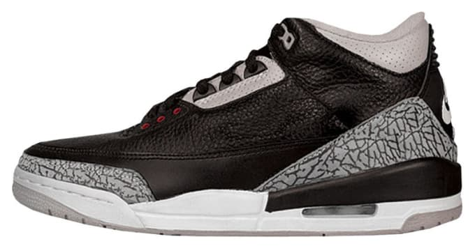 b9d645657d2d discount code for jordans in size 17 defff b36ea  sale 1988 air jordan 3  black cement fd0f5 46c4f