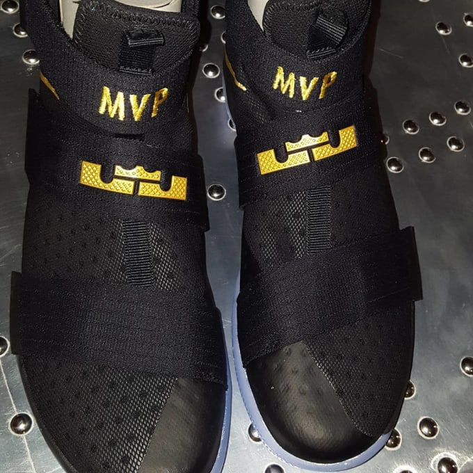 8852367288c italy nike lebron soldier 10 black gold finals authentic 58dae d7bc2; order nike  zoom lebron soldier 10 id 01f66 35447