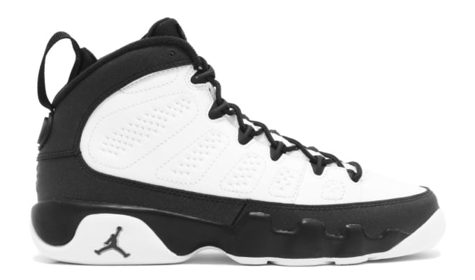 clearance air jordan 9 retro release date jan. 2018. color black summit  white metallic 076708595