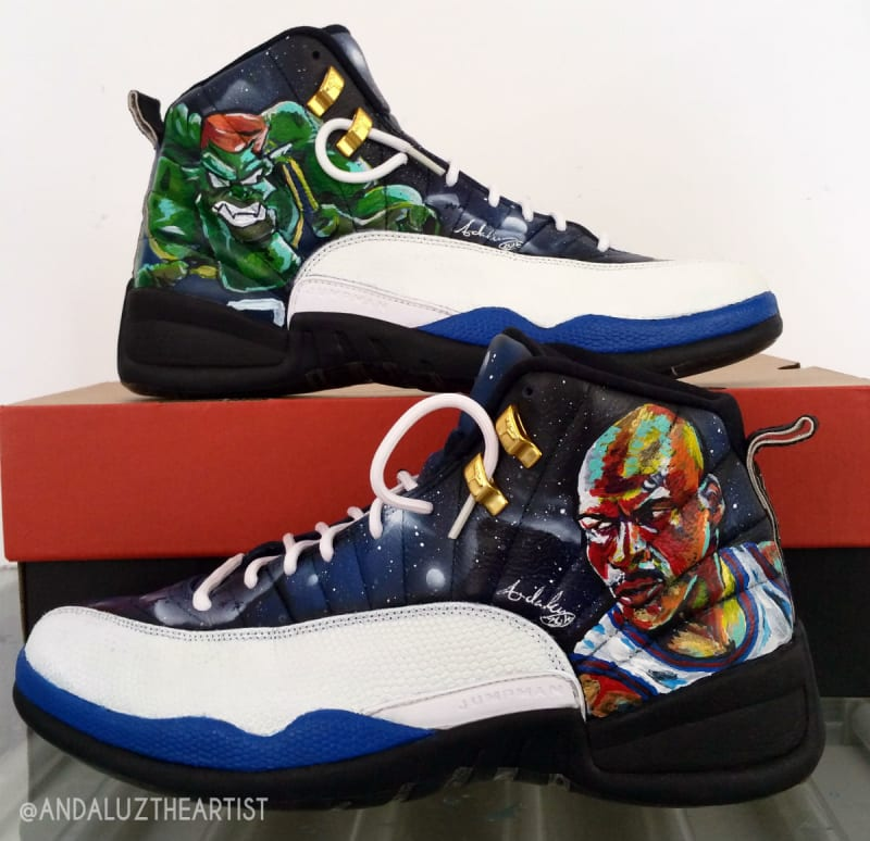 Air Jordan 12 By Andaluz The Artist