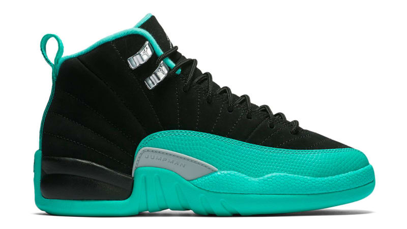 air jordan 12 blue and black