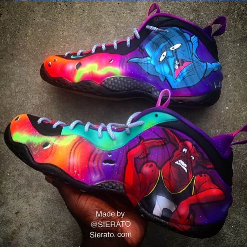 a018d34635ed ... custom a5d58 e73f9 good nike air foamposite one by sierato ea7be d293f  discount best gift nike air foamposite one zombie in south beach ...