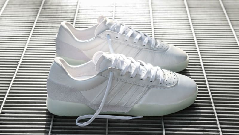 adidas Skateboarding City Cup Chaussure - white white gold