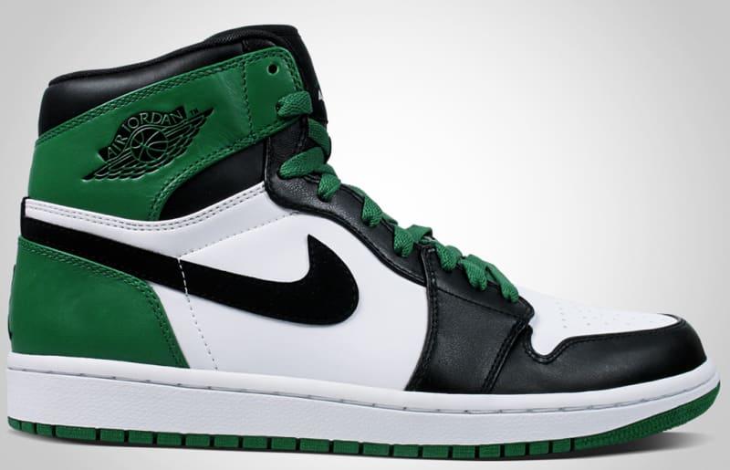 air jordans one green