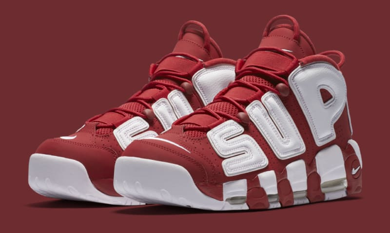 Supreme x Nike Air More Uptempos Release Again Tomorrow