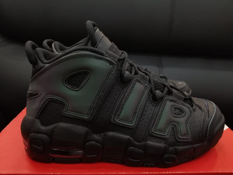 A Reflective Air More Uptempo Is Dropping This November  A grade school  pair with iridescent AIR branding