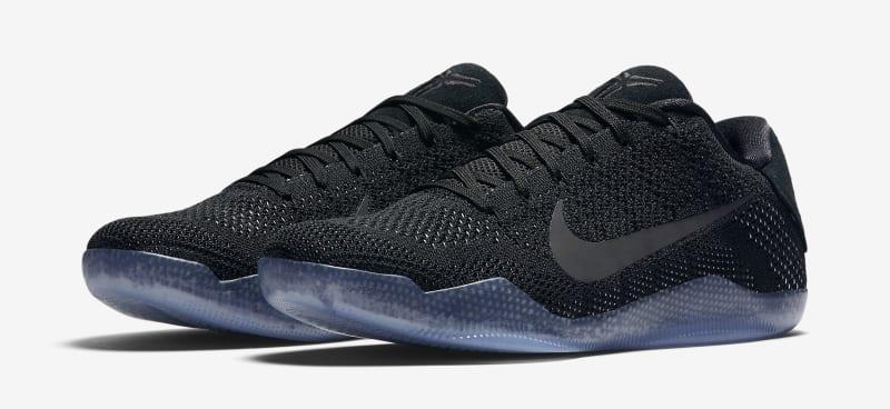 "Nike Kobe 11 Elite Low ""Triple Black"""
