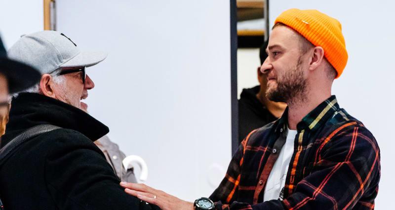 Tinker Hatfield Justin Timberlake