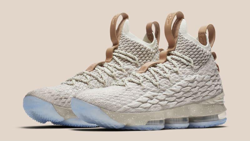 Nike Lebron James 15 Cream Color Shoes
