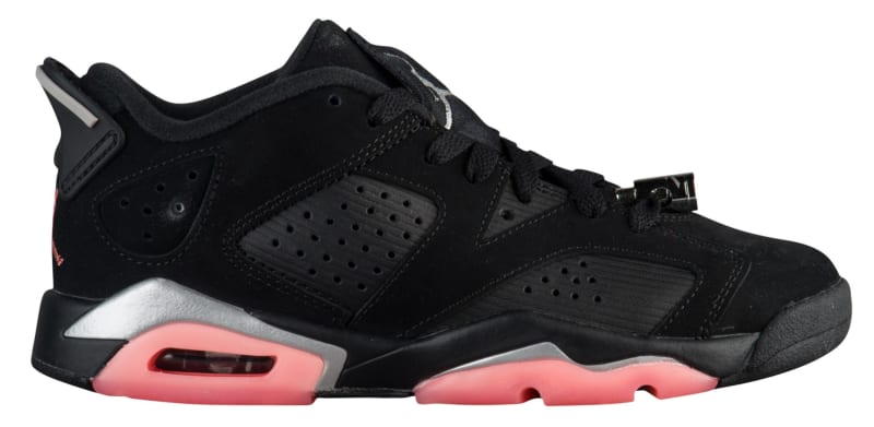 foot locker air jordan 6 low sunblush
