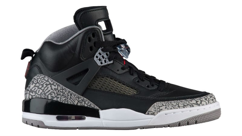 ... Jordan Spizike Black Cement Release Date 315371-034 Sole Co  NIKE ... 8185da0ba