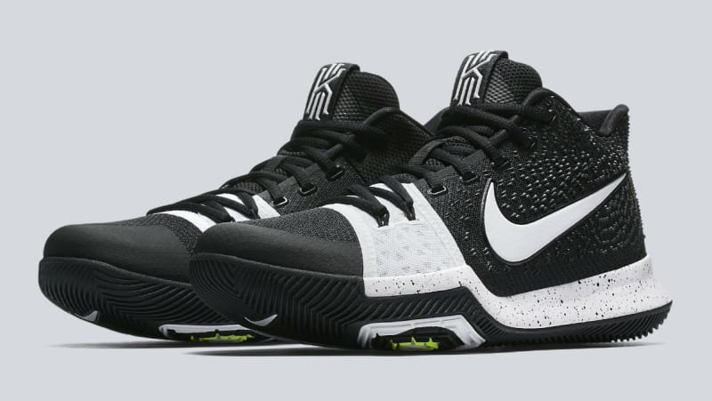 Nike Kyrie 3 Sneaker Black/Green/Multicolor