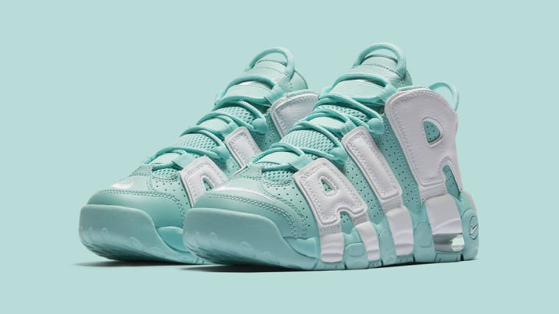 Women/Men NIKE AIR MORE UPTEMPO GS Coolest ISLAND outlet GREEN 415082-300