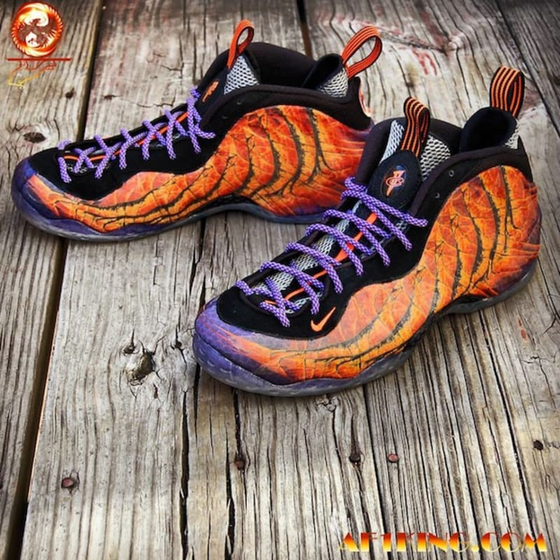 Custom foamposites sole collector 30 phoenix rising by gourmetkickz sciox Images