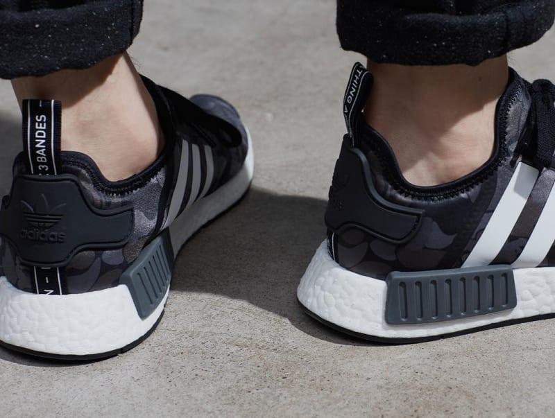 Adidas NMD X BAPE Black