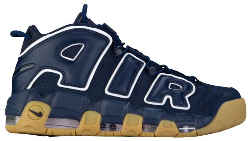 BRAND NEW Nike Air More Uptempo Obsidian Navy Blue White 921948-400