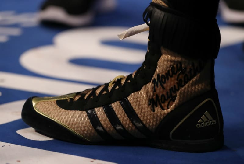 Conor Mcgregor Shoes White And Gold