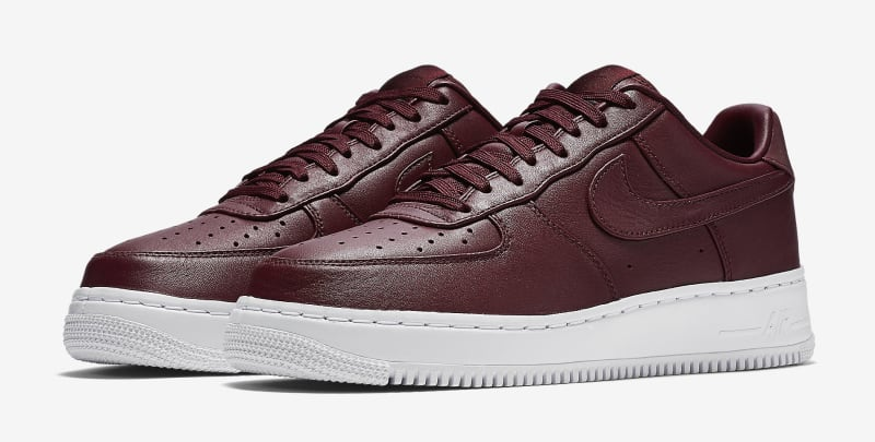Best Sell Nike Air Force 1 Low Burgundy White 555106 066 Women's Men's Casual Shoes Sneakers