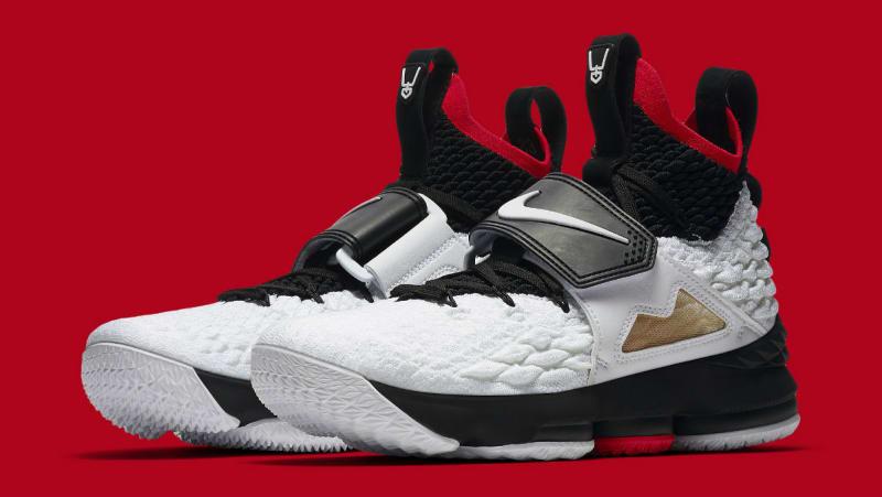"9b98021466 B/R Kicks: Nike LeBron 15 ""Bright Crimson HoopsHype"