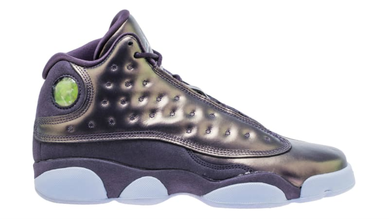 purple air jordan 13