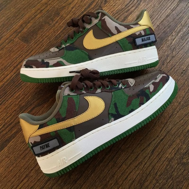 NIKEiD Air Force 1 Low Major Payne. Designer: Regularolty