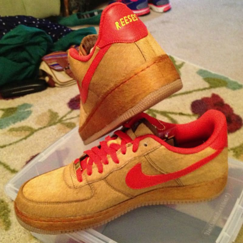 NIKEiD Air Force 1 Low E.T.. Designer: Samcolt12