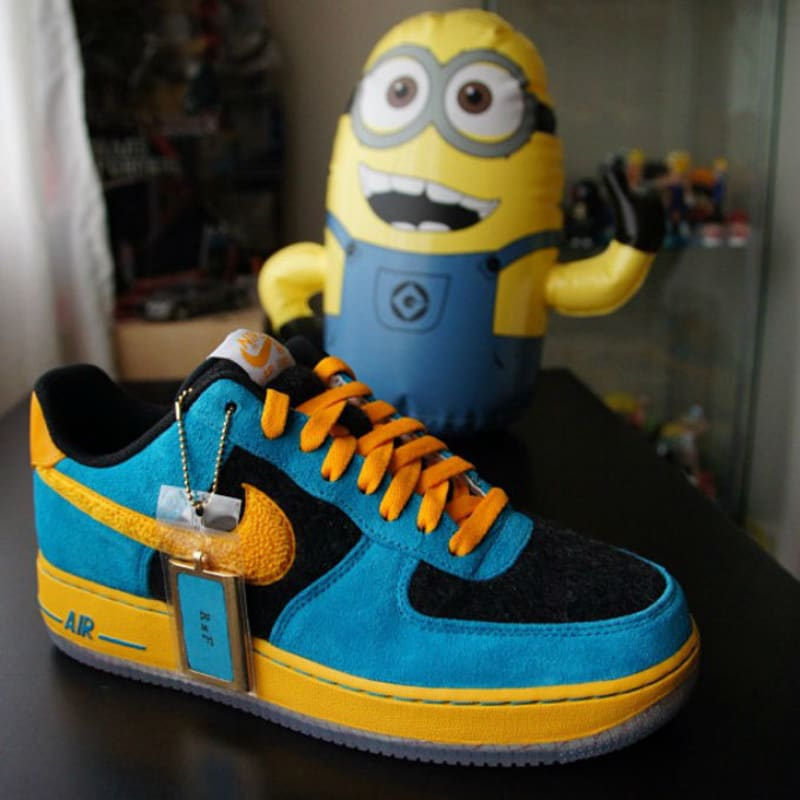 NIKEiD Air Force 1 Low Despicable Me. Designer: Ray4dashow