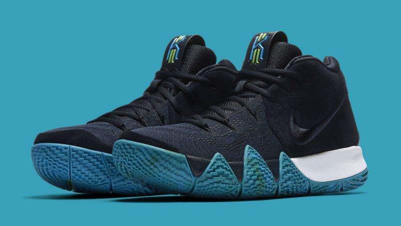 Nike Kyrie 4 Dark Obsidian / Black 943806 401 Sz 12