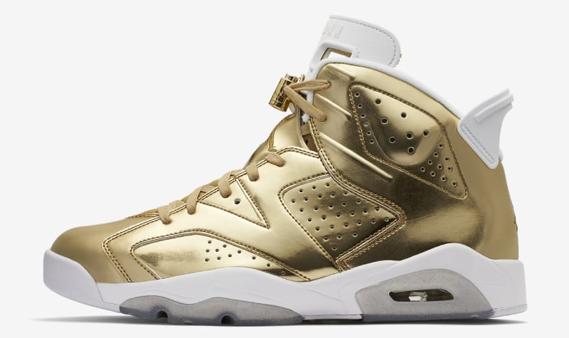 air jordan 6 pinnacle gold size 6
