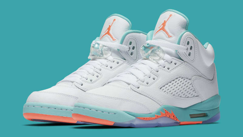 new product 7bf25 3e569 ... czech air jordan 5 gs light aqua d5b51 6b8ed