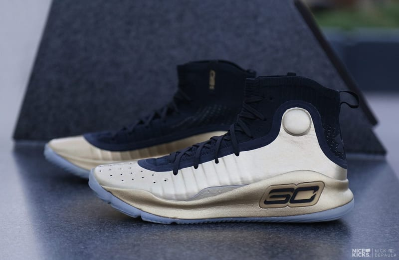 Under Armour curry 4 gold championship