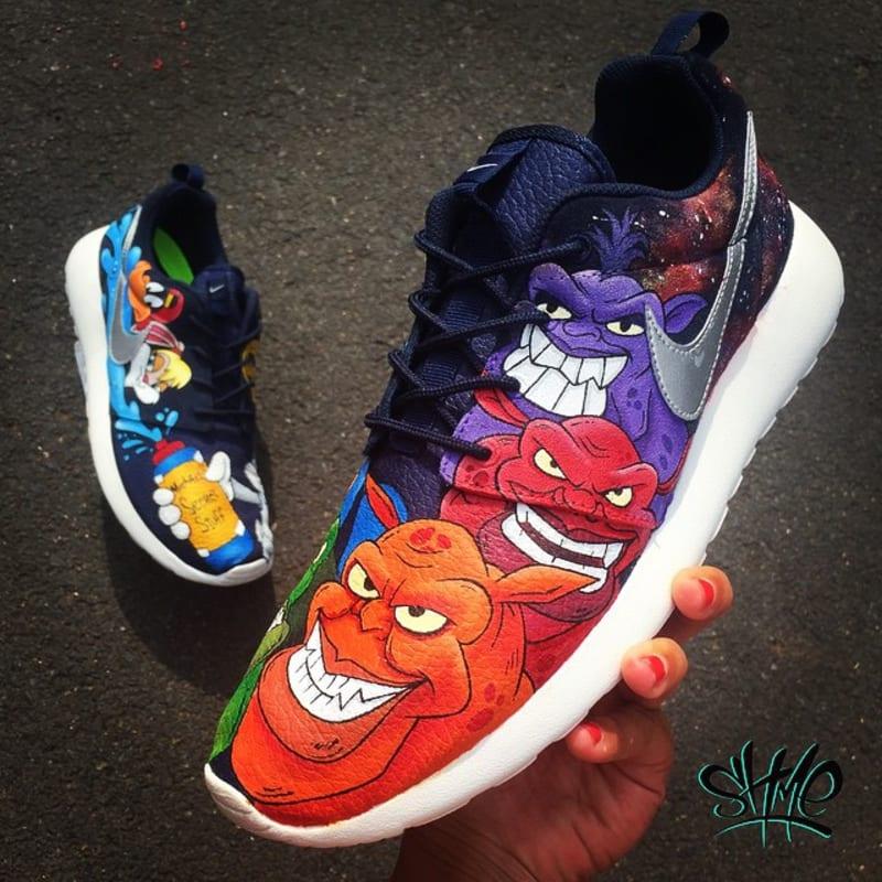 13 Nike Roshe Run By Shme Custom Kicks