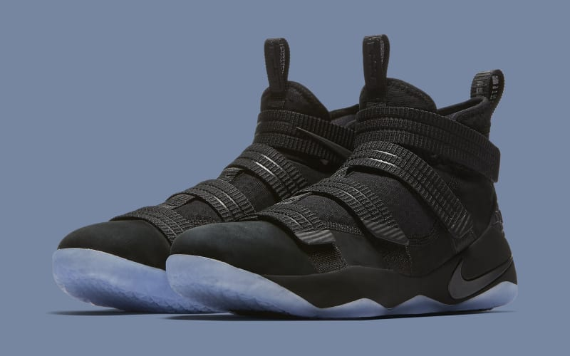 Black Ice Nike LeBron Soldier 11 releasing on May 31