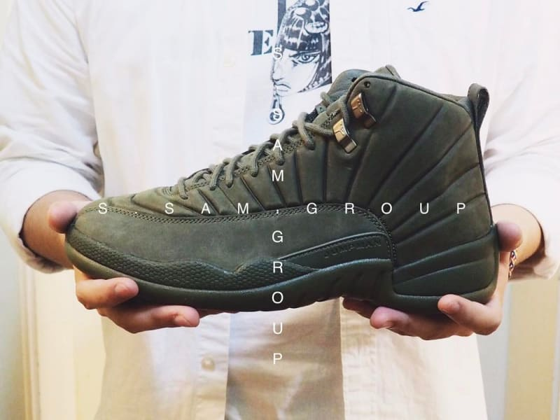 404e80c2b530 ... Yet Another PSNY x Air Jordan 12 Colorway. Olive featured on the latest  pair.