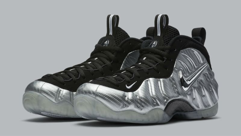 new concept 91c1f 9409a ... spain silver nike foamposite pro carbon fiber sole collector f0b5d 3e50c