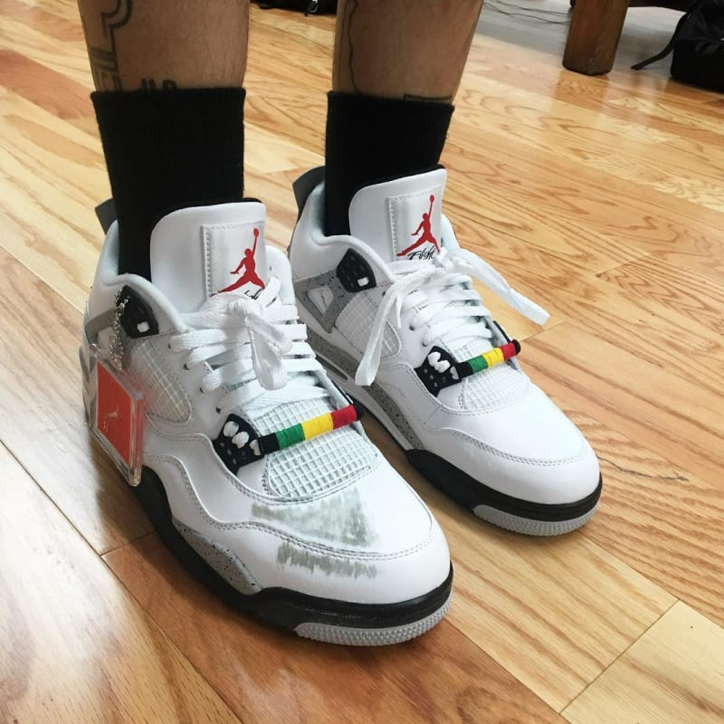 air jordan 4 cement do the right thing