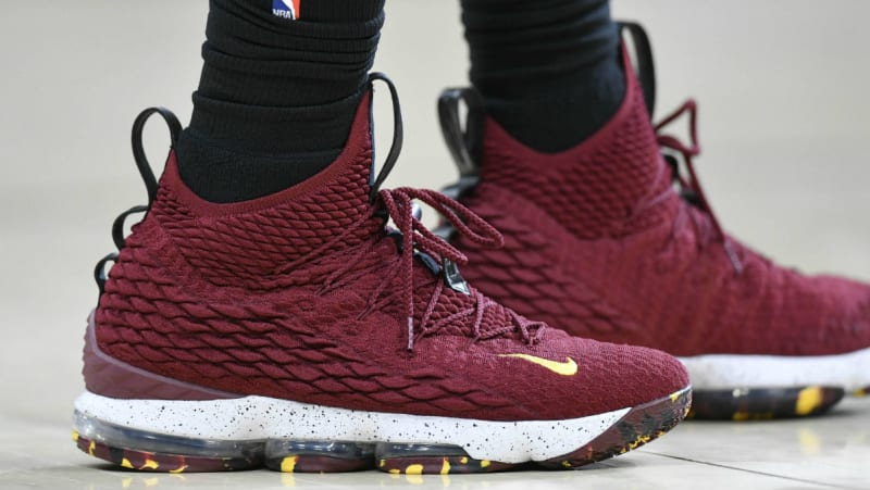 new product c4605 004cd SoleWatch LeBron James Debuts the Nike LeBron 15 Low Nike LeBron 15 (XV) New  ...