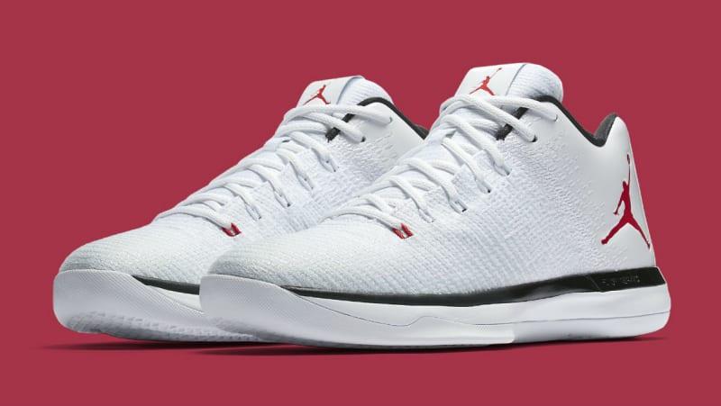 8f37796454c3 Color WhiteUniversity Red-Deep Royal Blue Style Code Air Jordan XXX1 Low  Nike Air Jordan XXXI 31 White ...