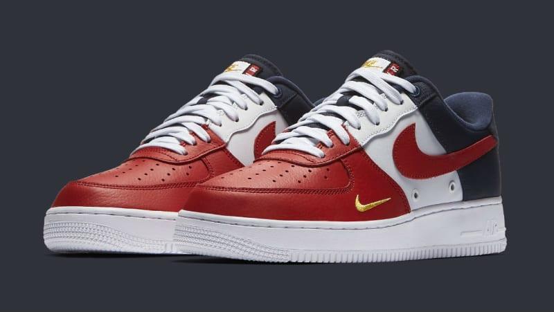 Nike Air Force 1 Low Mini Swoosh USA Release Date 823511-601 | Sole ...