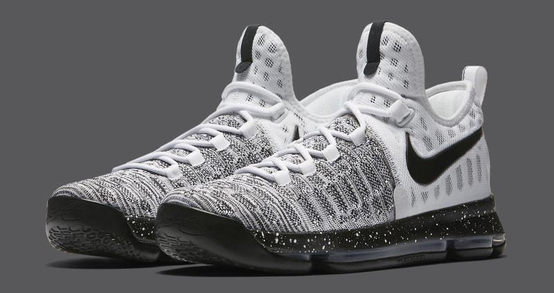 f884fea75405 Nike KD 9 Oreo BlackWhite Release Date 843392-010 (1) Nike Zoom KD 9 (IX)  ...