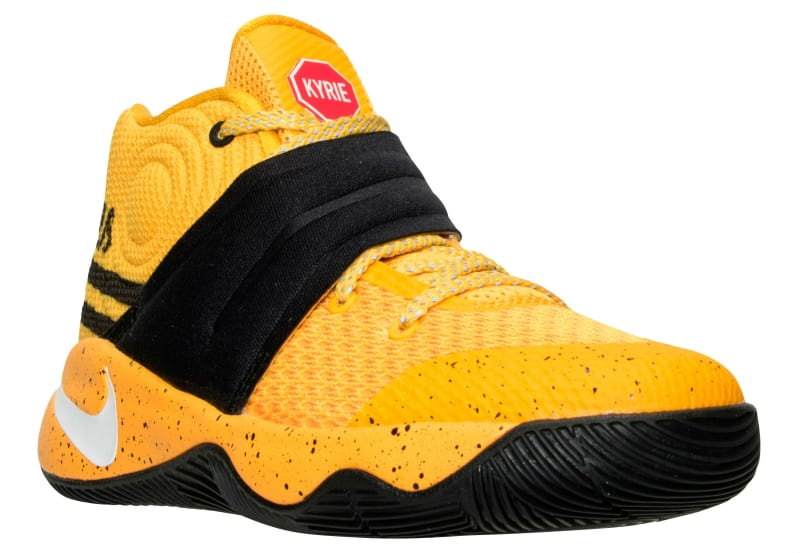 Nike Kyrie 2 School Bus (GS) Sneakers (University Gold/White-Black-University Red)