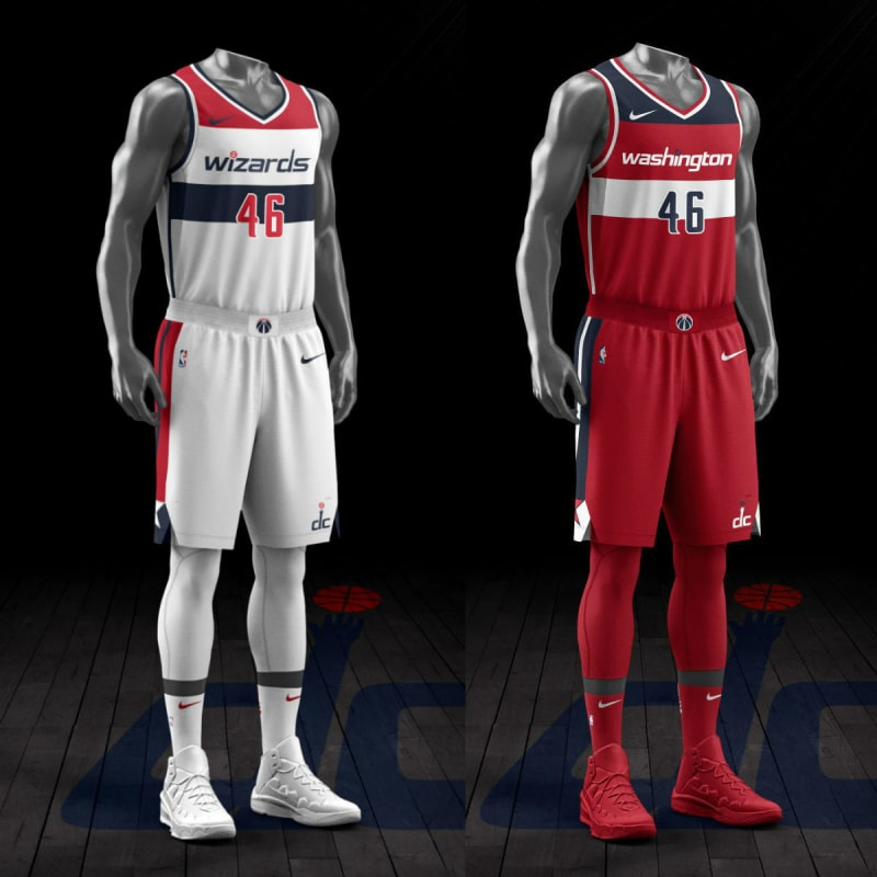 c3b1de36 Best looking NBA uniforms: Wizards and Bulls (Thrill) - CougarBoard.com
