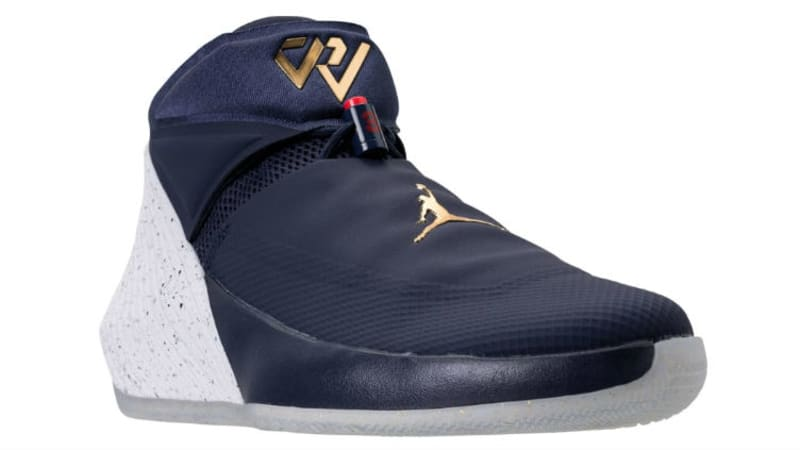 Jordan Why Not? ZER0.1 Tribute Size 12 Midnight Navy White Red Gold AA2510-431