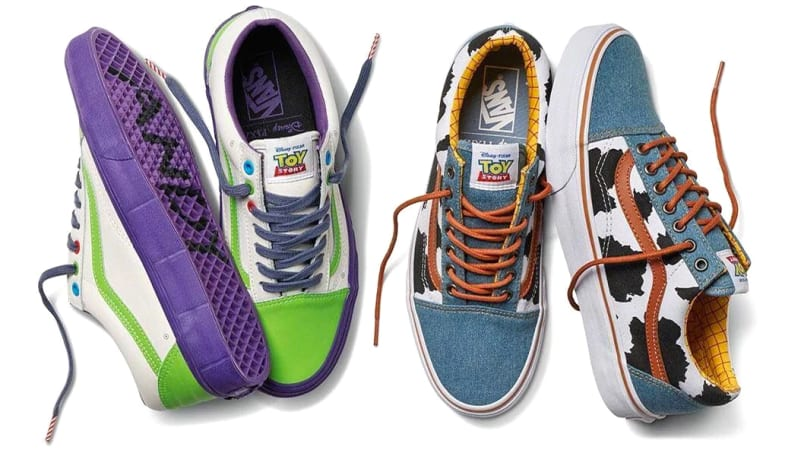 promo code c0b71 8699a ... Vans Really Made Toy Story Sneakers  Nike Toy Story Dunks ...