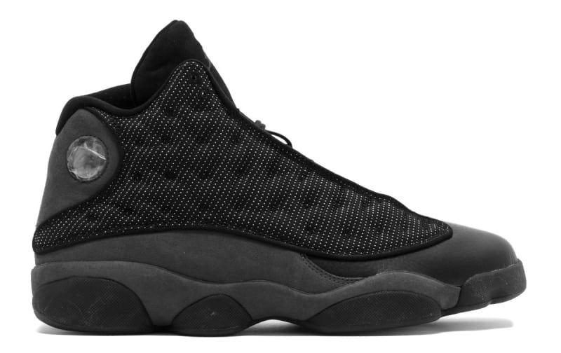 jordan shoes 2018. air jordan 13 retro release date: jan. 2018. color: black/white-hyper royal style #: 414571-007. price: $190 shoes 2018 sole collector