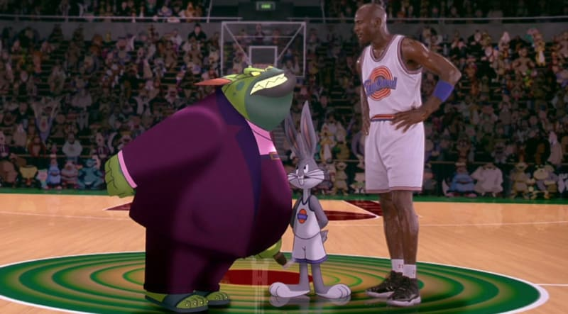 air jordans worn in space jam