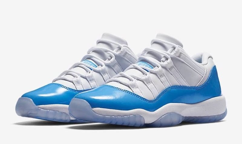 jordan retro 11 low university blue