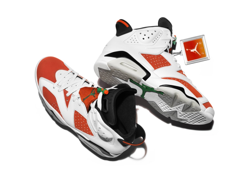 jordan gatorade. jordan brand just officially unveiled the sneakers. gatorade h