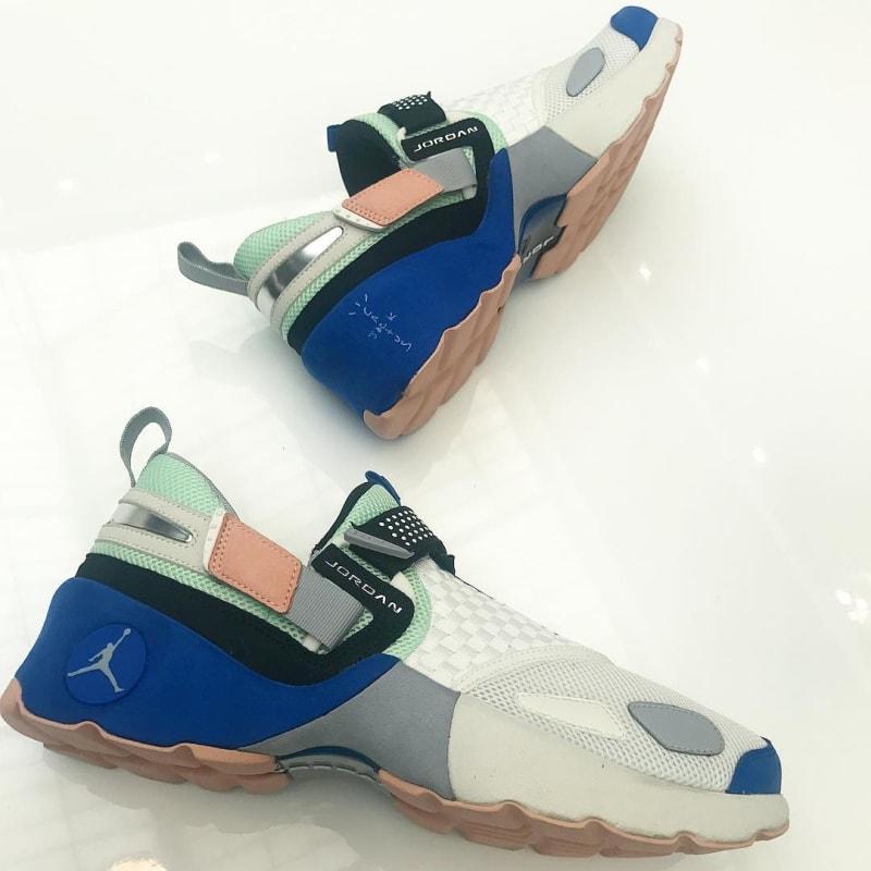 Travis Scott Has His Own Jordans