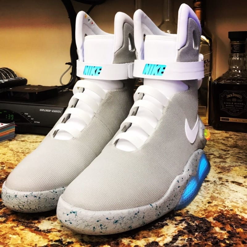 Nike Shoes With The Gab In The Sole